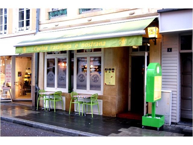 Trattoria il riccio luxembourg gastronomie restaurant bar brasserie cafe - Cuisine rapide luxembourg ...