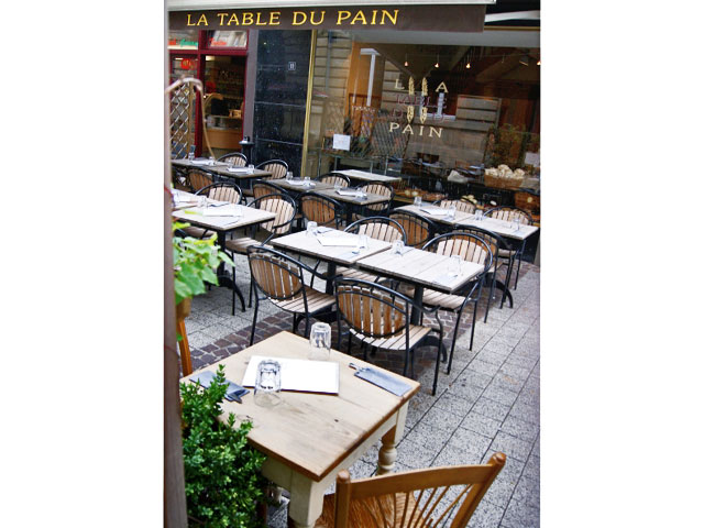 Photo du restaurant la table du pain à Luxembourg